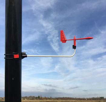Little Hawk Mk2 Wind Indicator on pole