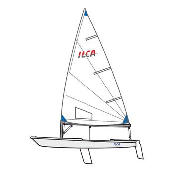 Element 6 ILCA Laser Radial Dinghy
