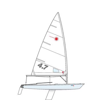 Laser 4.7 Sailing Dinghy Laser Performance