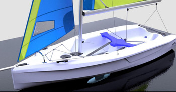 Fusion 2  Double Handed Sailing Dinghy