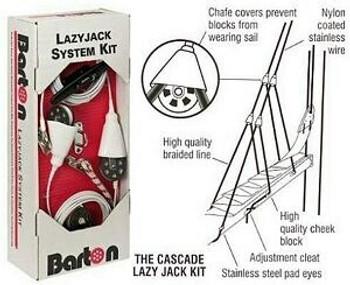 Barton Lazy Jack Kit 41150 - Vessels up to 9m