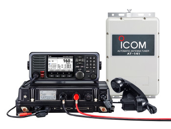 ICOM GM800 GMDSS MF/HF Marine Transceiver with Class A DSC