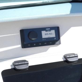 Fusion Marine Stereo MS-RA60 on boat