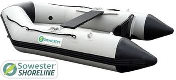 Sowester Shoreline Inflatable Boat 2.3m - Wooden Slats