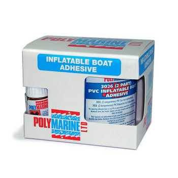 Polymarine Inflatable Boat Repair Kit (2 Part) - PVC