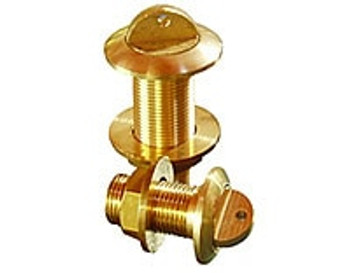 "Brass Boat Drain Plug ½"" BSP"