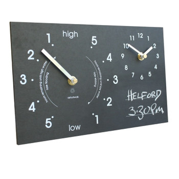 A Short Walk Tide / Time Clock - Chalk