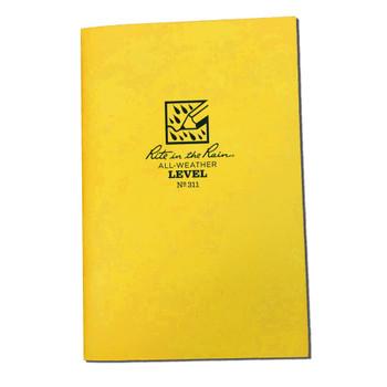 "Rite in the Rain 311 Stapled Notebook Level - 4 5/8"" x 7"""