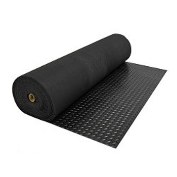 Techtread Diamond Anti-Slip Matting Black 3mm