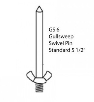 Gullsweep Replacement Mounting Pin