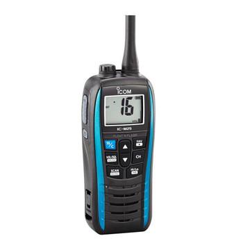 Icom IC-M25 EURO Handheld VHF Radio with USB Charging - Marine Blue