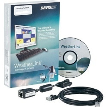 Davis WeatherLink for Windows with USB Connection
