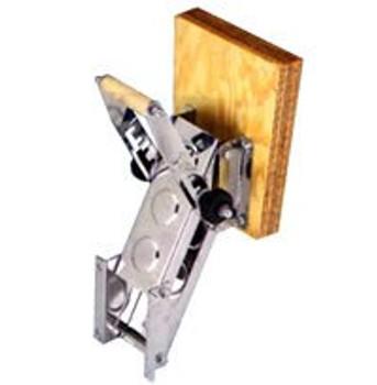 Trem Adjustable Outboard Bracket S/S Wood Pad - Max 30kg