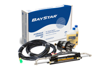 BayStar Hydraulic Compact Outboard Steering Kit - HK4200A