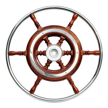 Nautic Traditional Schooner Wheel
