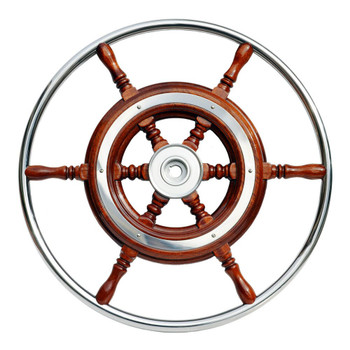 Nautic Traditional Schooner Wheel