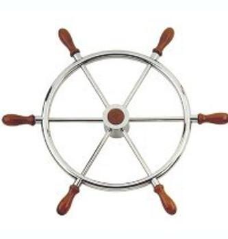 Nautic Barge S/S Steering Wheel T11 - 60cm