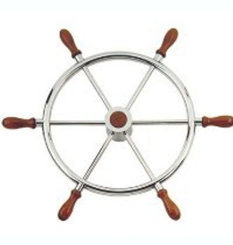 Nautic Barge S/S Steering Wheel T11 - 60cm