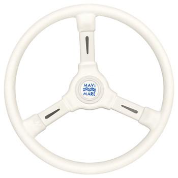 Sowester 35cm White Stweeing Wheel