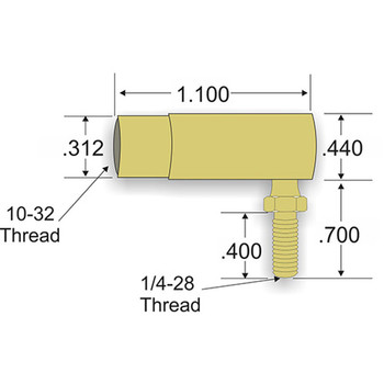 Teleflex Control Cable Fitting