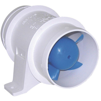 Rule In-line Blower Model 140 75mm (3 in) Ducting -12V