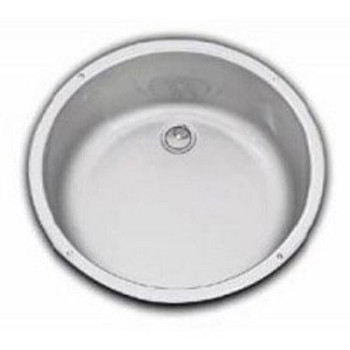 Dometic S/S Round Sink - 400mm x 130mm