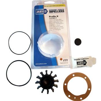 Jabsco 1210-0001 Impeller and Gasket Kit - Neoprene - Pack and Kit View