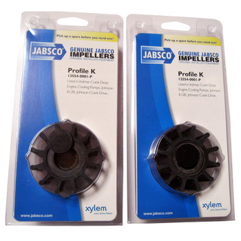 Jabsco 13554-0001 Impeller - Neoprene - Pack View