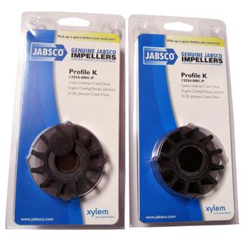 Jabsco 13554-0001 Impeller - Neoprene - Pack View
