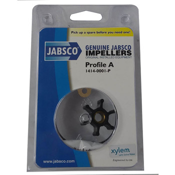Jabsco Impeller and Gasket Kit - Neoprene - Pack View