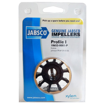 Jabsco 18653-0001 Impeller - Neoprene - Pack View
