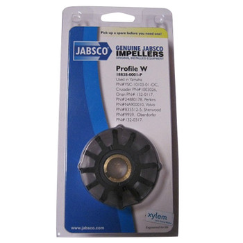 Jabsco 18838-0001 Impeller - Neoprene - Pack View