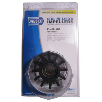 Jabsco 18958-0001 Impeller - Neoprene - Pack View