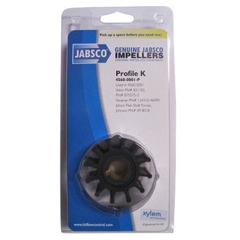 Jabsco 4568-0001 Impeller - Neoprene - Pack View