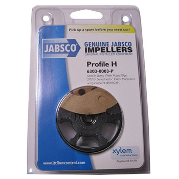 Jabsco 6303-0003 Impeller and Gasket Kit - Nitrile