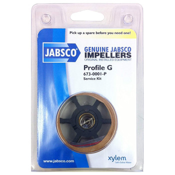 Jabsco 673-0001 Impeller - Neoprene - Pack View