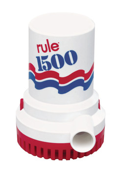 Rule 1500 Bilge Pump Model No 02 - 12 volt