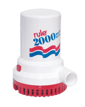 Rule 2000 Bilge Pump Model No 10 - 12v