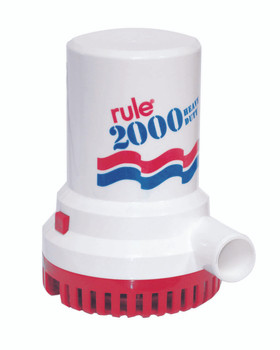 Rule 2000 Bilge Pump No 12 - 24v