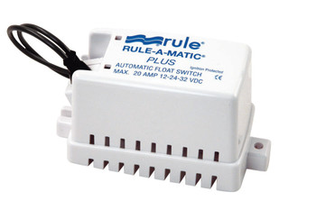 Rule-A-Matic Plus Float Switch with Fuse Holder  Model 40FA