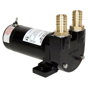 Jabsco Diesel Transfer Pump - Switch and Fuse - 50LPM - 12V
