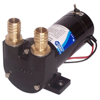 Jabsco Diesel Transfer Pump - Switch and Fuse - 50LPM - 24V
