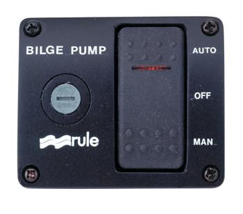 Rule Bilge Pump Rocker Switch Model 43 - 12 volt