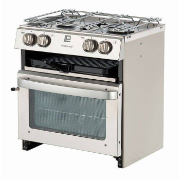 Sowester Voyager VP4509 - Stainless Steel - 2 Hob, Oven & Grill