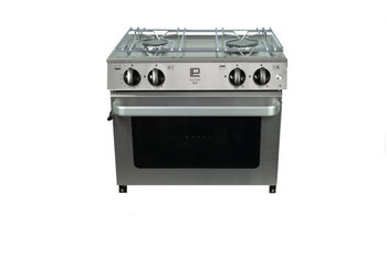 Sowester pacific 5000 cooker with 2 burners, oven pan rails and gimbals