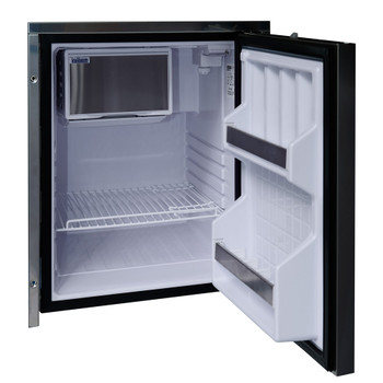 Isotherm Cruise Inox 65L Fridge - S/S Door - open