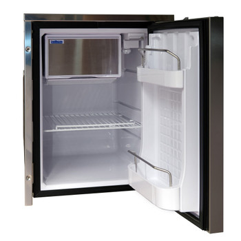 Isotherm Cruise INOX Clean Touch 49L Fridge - Model CR49 - open