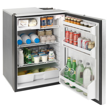 Isotherm Cruise Elegance 130L boat fridge - open