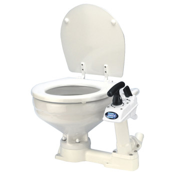 Jabsco Twist and Lock Manual Toilet - Compact Bowl