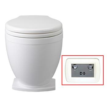 Jabsco Lite Flush Toilet with Control Panel - 12V